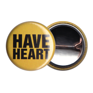 Have Heart 'Yellow Logo' Button
