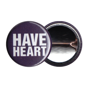 Have Heart 'Navy Logo' Button