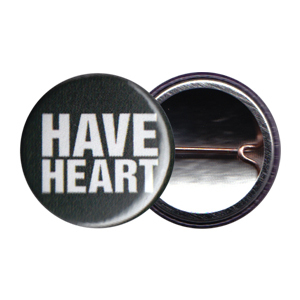 Have Heart 'Forest Green Logo' Button