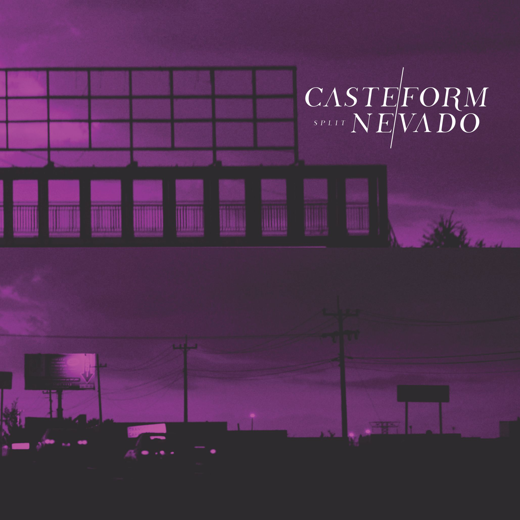 Casteform/Nevado Split (Cassette/CD)
