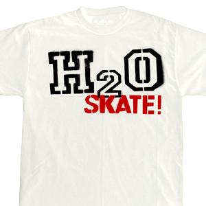H2O 'White Skate!' T-Shirt
