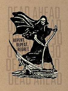 Dead Ahead - Reaper Poster