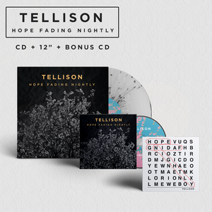 Tellison – Hope Fading Nightly CD and Vinyl Bundle