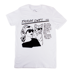White Adult Taylor Tee