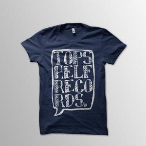 Topshelf Records - Logo Shirt (Navy)