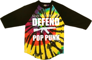 Tie Dye Baseball T-Shirt