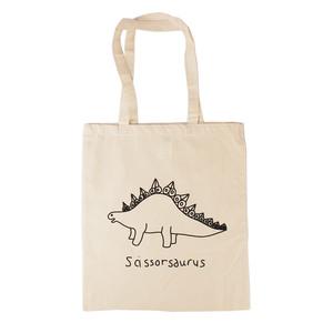 Scissorsaurus Tote Bag