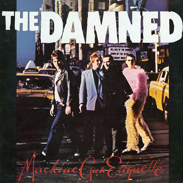 Damned - Machine Gun Etiquette LP