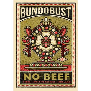 Bundobust No Beef - Print