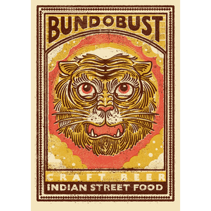 Bundobust Tiger - Print