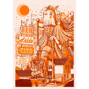 Ben Folds Five - Print