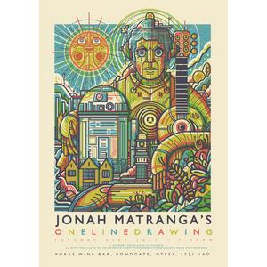 Jonah Matranga's Onelinedrawing - Print