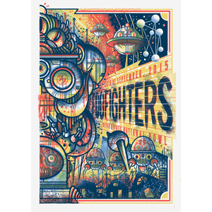 Foo Fighters Milton Keynes 6/9/15 - Print