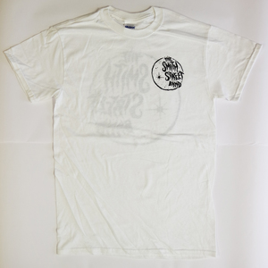 The Smith Street Band - White Starry Circle T-shirt