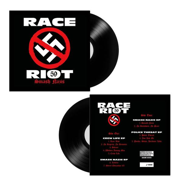 Race Riot 59 - Smash Nazis LP SOLD OUT