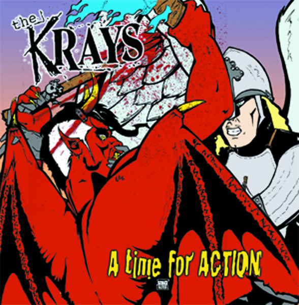 The Krays - A Time For Action LP