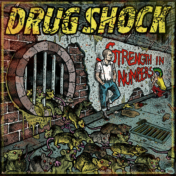 Drug Shock - Strength In Numbers LP