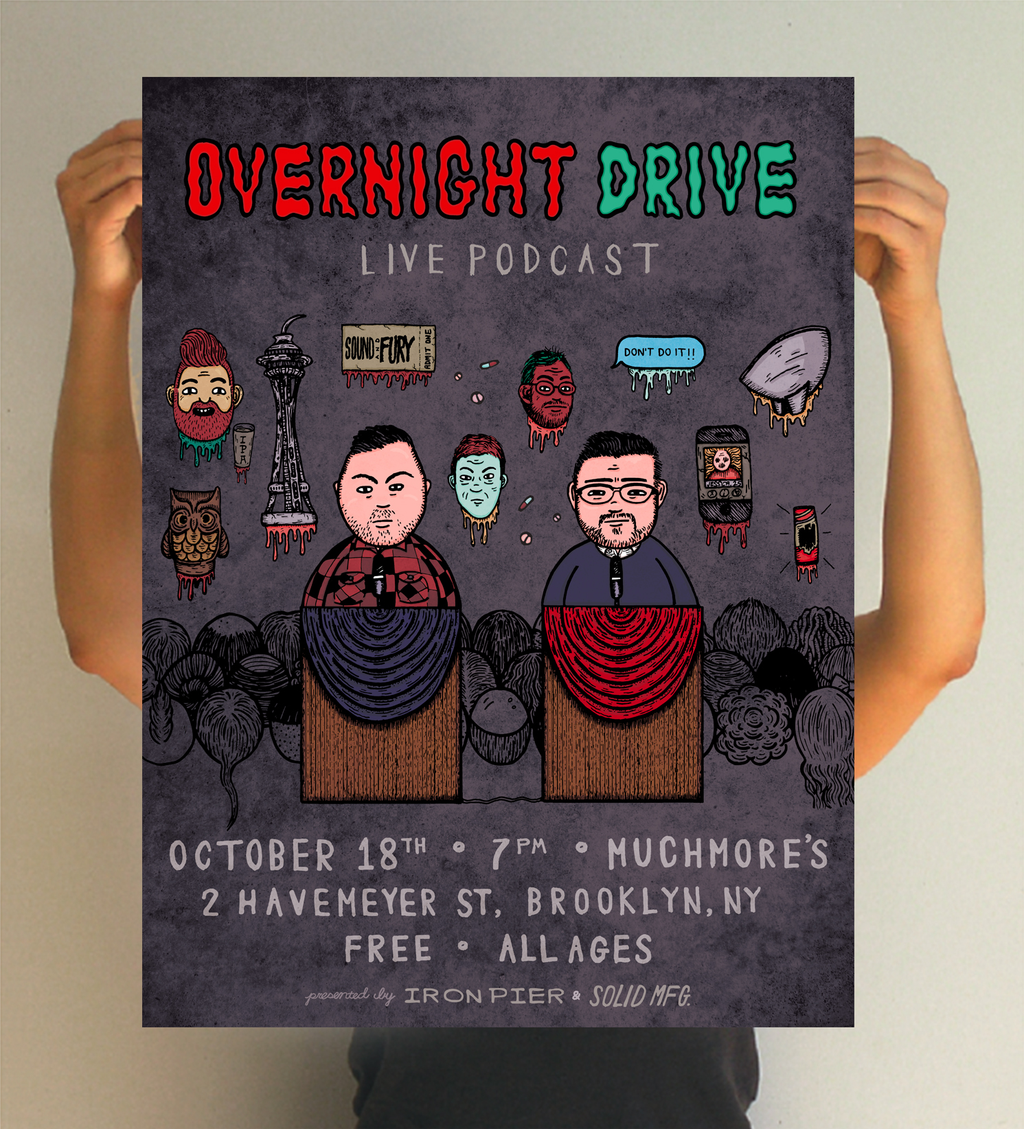Overnight Drive Podcast - Merchandise