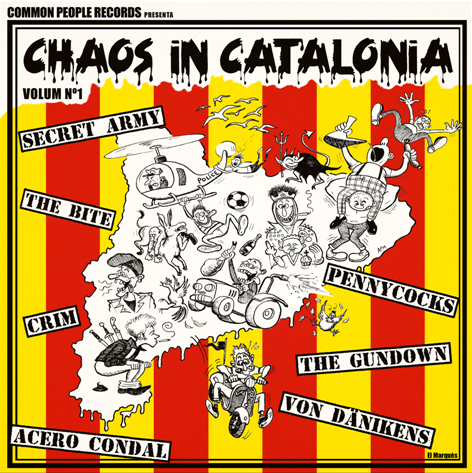 V/A Chaos In Catolina Volume 1.