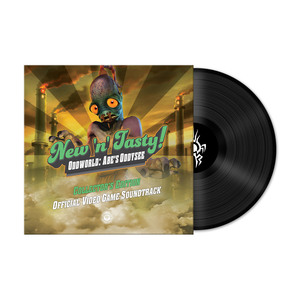Oddworld: New 'n' Tasty - Official Game Soundtrack (Black Vinyl)