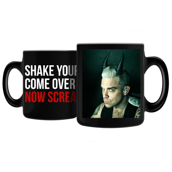 Heat Reactive Horns Mug