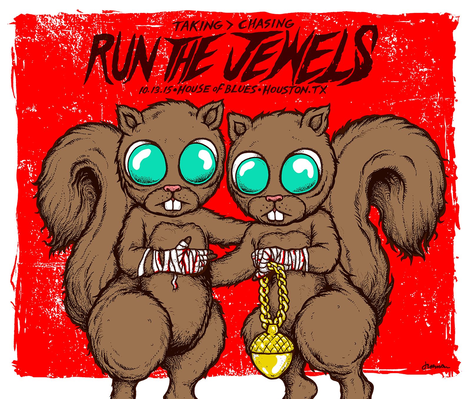 RUN THE JEWELS (2015) (BOTH POSTERS / ALL VARIANTS)