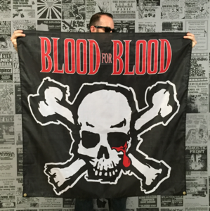 Blood For Blood 'Skull' Banner