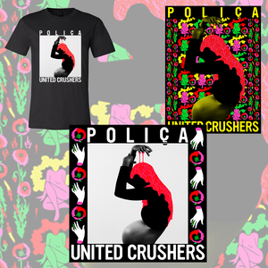United Crushers CD/LP, T-Shirt + Poster Bundle - PREORDER