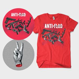 Anti-Flag - Cease Fires LP + t-shirt bundle