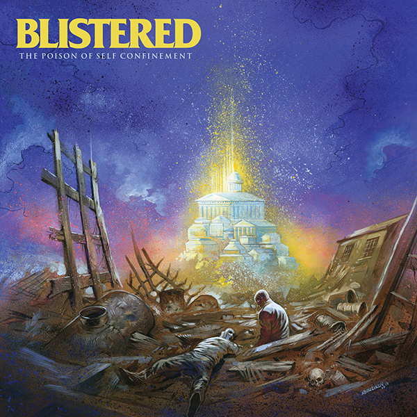 Blistered - The Poison of Self Confinement Cassette Tape