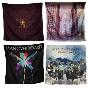 Album Cover Flag Banners