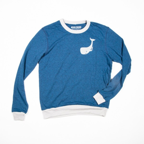 Narwhal Longsleeve Thermal- Blue