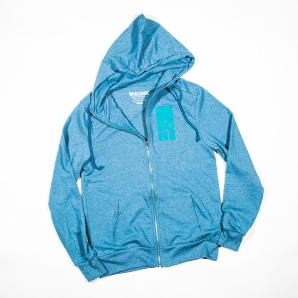 Mouth of the Whale Hoodie - Blue