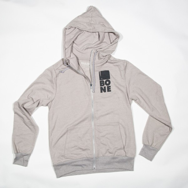 Mouth of the Whale Hoodie - Grey