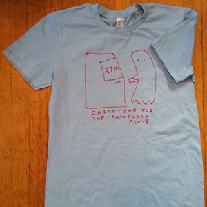 CASIOTONE FOR THE PAINFULLY ALONE- Ghost ATM Shirt