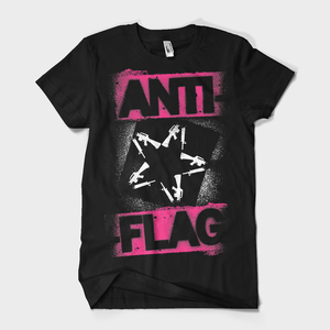 Anti-Flag - Spray Paint Gunstar t-shirt