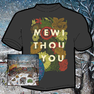 mewithoutYou - Ten Stories LP and Flowers shirt