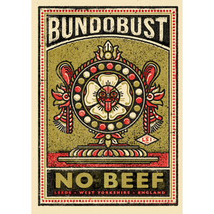 No Beef - A2 Screen Print