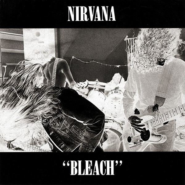 Nirvana - Bleach Cassette Tape