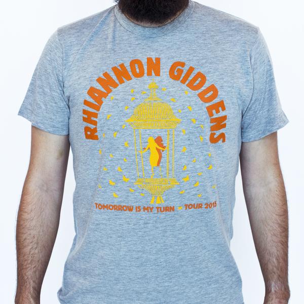 Rhiannon Giddens Grey Unisex Lantern T Shirt