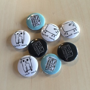 Topshelf Records - Button Pack