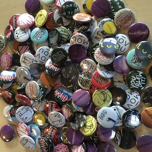 Various Artist - 7 One-Inch Button Pack