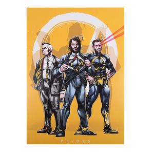 A3 Superhero Poster