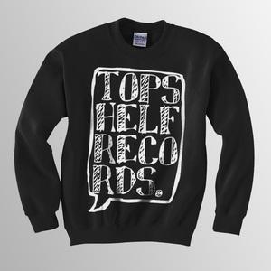 Topshelf Records - Logo Crewneck Sweater (Black)