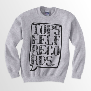 Topshelf Records - Logo Crewneck Sweater (Gray)