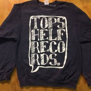 Topshelf Records - Logo Crewneck Sweater (Navy)
