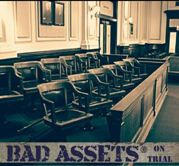 Bad Assets -  On Trial Digipak