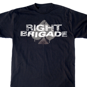 Right Brigade 'Navy Logo' T-Shirt