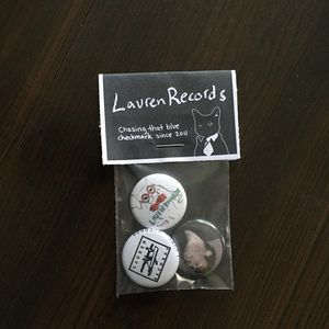Lauren Records 3 Button Pack