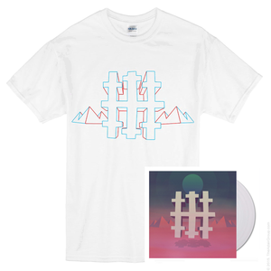 Three Trapped Tigers 'Silent Earthling' Special Edition Double Transparent Vinyl LP  + T-Shirt Bundle